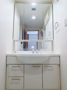 3面鏡付洗面化粧台