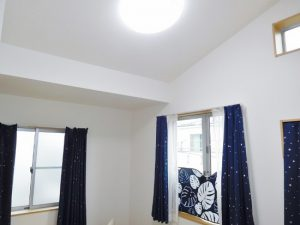 3階洋室は勾配天井