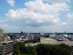 南側バルコニーからの眺望