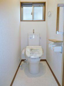 2階トイレは未使用です