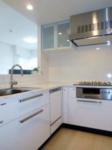 浄水器・食洗器・ディズポーザー付システムキッチン