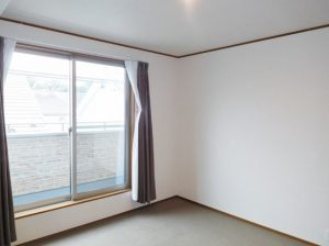 2階洋室8帖のマスターベットルーム