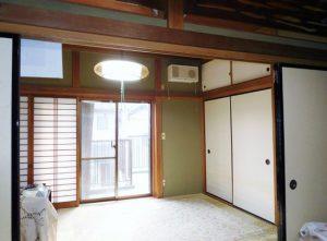2階の2間続きの和室