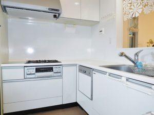 浄水器・食洗器付システムキッチン