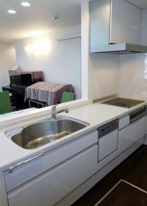 食洗器付システムキッチン・IHクッキングヒーター