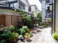 手入れの行き届いたお庭。ガーデニングも楽しめます。